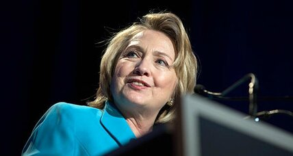 Hillary Clinton says she wants America to have a woman president. Surprised? (+video)