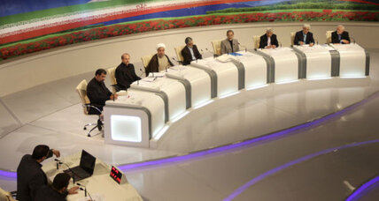 Stalled nuclear talks fuel sharp exchange at Iran's final presidential debate