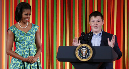 Winners announced for 'Kids' State Dinner'