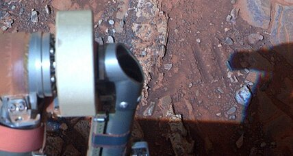 Mars discovery: Rock reveals science of planet's watery past