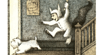 Did you spot the three Maurice Sendak books in Google's doodle?