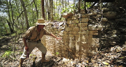 Lost Maya city found in Mexican jungle