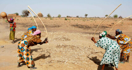 Cereal banks empower women and fight famine in Africa's Sahel region