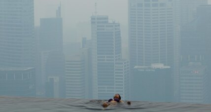 Singapore haze hits seven-year high