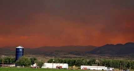 South Fork fire forces town to evacuate