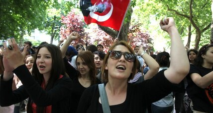 In Turkey, peaceful protests in a declining democracy