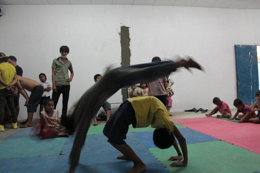 In Cambodia, kids breakdance toward better futures