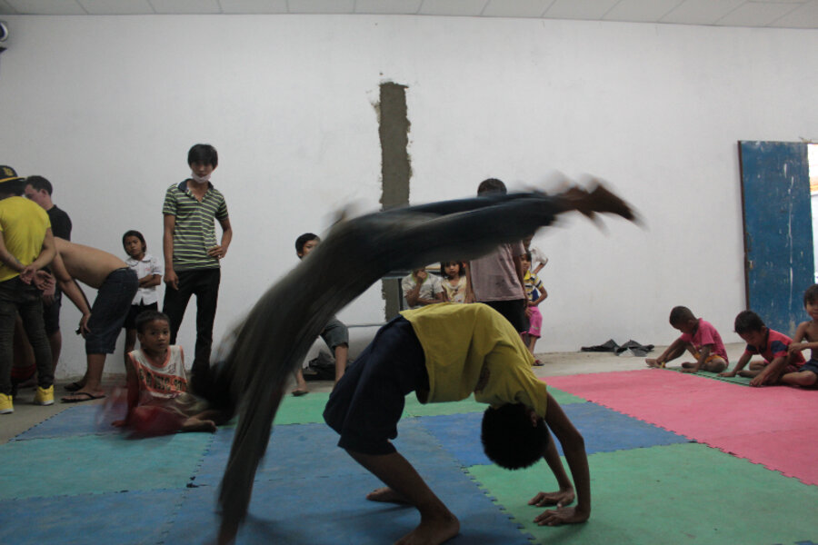 In Cambodia, kids breakdance toward better futures