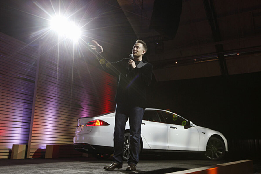 Tesla 90-second battery swap to cost $60 to $80 - CSMonitor com
