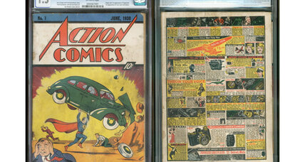 Superman comic book fetches $175,000 at auction