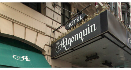 Simon & Schuster teams up with Algonquin Hotel