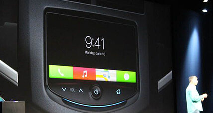 iCar? iDrive? Apple brings its iOS to a dashboard near you.