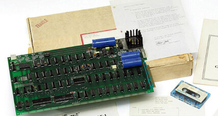 Want an original 1976 Apple-1 computer? It'll cost you, a lot.