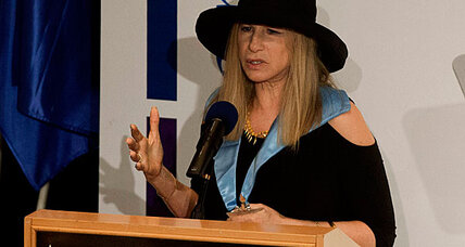 Barbra Streisand: Women shouldn't sit in back of bus in Israel (+video)