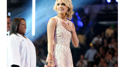 CMT Awards include winner Carrie Underwood's emotional tribute to Oklahoma