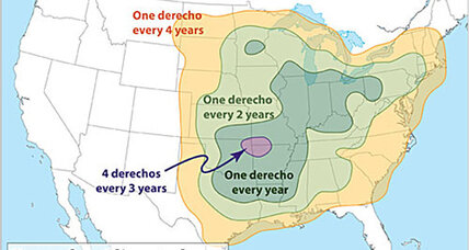 Derecho windstorms could sweep the midwest: Who is in its path?