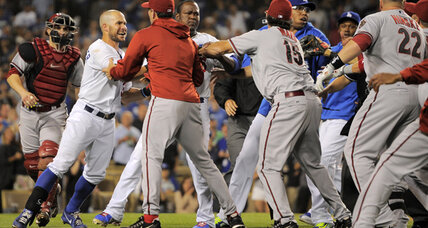 Dodgers brawl with Diamondbacks results in ejections, LA win