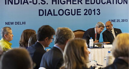 Kerry pledges US help for India's massive higher ed needs