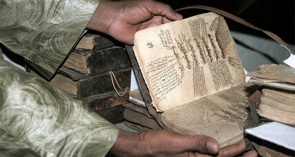 'Libraries in Exile' fights to save priceless manuscripts in Mali