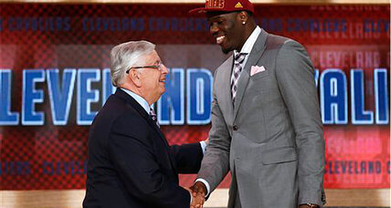 NBA draft 2013 full of surprises, starting with a Canadian No. 1 pick