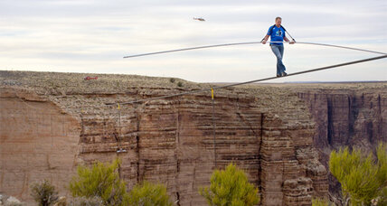 Nik Wallenda: Two interns view his Grand Canyon stunt live