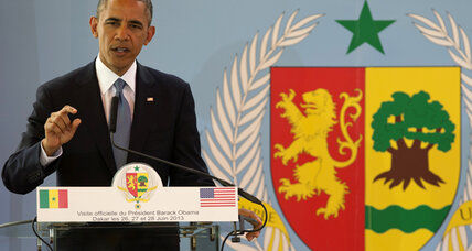 On first day in Africa, Obama calls Mandela a 'hero for the world'