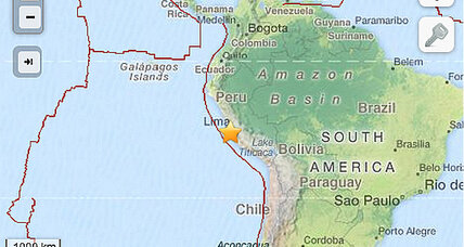 Peru earthquake: Small offshore earthquake rumbles Lima