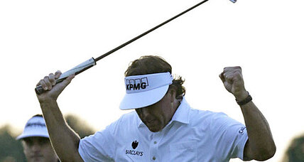 US Open tee times: Can Mickelson hold the lead?