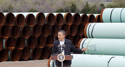 Keystone XL pipeline: Did Obama just drop a big hint about his decision? (+video)