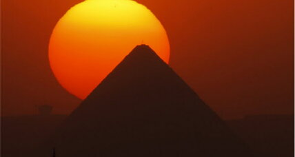 Egypt pyramids warning 'baseless,' says Egyptian government (+video)