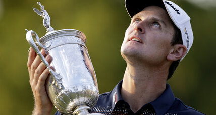 US Open Championship: No one smells sweeter than Justin Rose (+video)