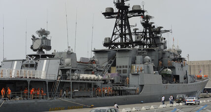Why Russia evacuated its naval base in Syria