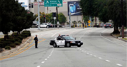 LAPD shooting: Gunman ambushed two LAPD cops