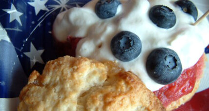 Fourth of July recipe: Red, white, and blue shortcakes
