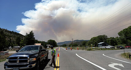 South Fork fire forces 1,500 people to evacuate