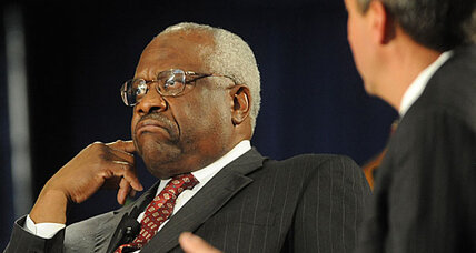 Clarence Thomas compares affirmative action to Jim Crow laws