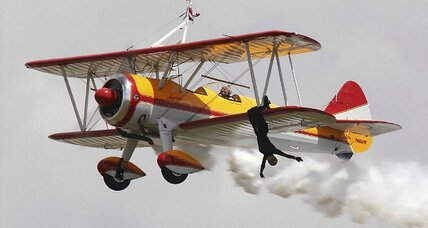 Why wing walkers and stunt pilots inspire us