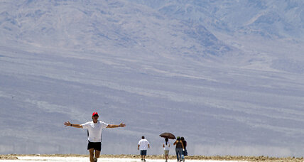 Death Valley temps tie record in extreme heat wave (+video)