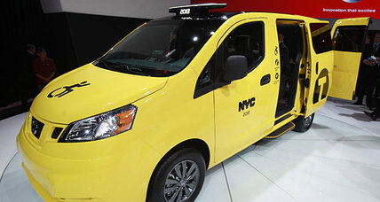 2013 Nissan NV200: function over form.