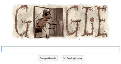 Franz Kafka: Why a cockroach crawled into the Google doodle (+video)
