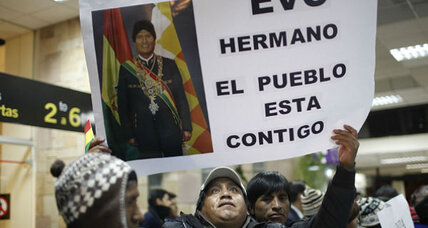 Snowden search on Bolivian plane sparks Latin American criticism