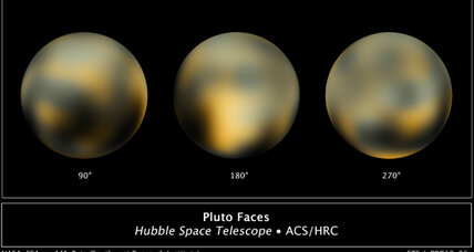 Pluto's craters could get Star Trek names