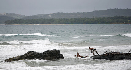 Tropical storm Chantal heads for Caribbean (+video)
