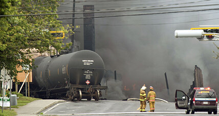 Quebec train fire: Search continues in oil train derailment