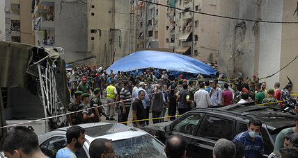 Beirut bombing targets Hezbollah and its Syrian mission