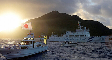 Japan to China: Stop trying to change the region by force