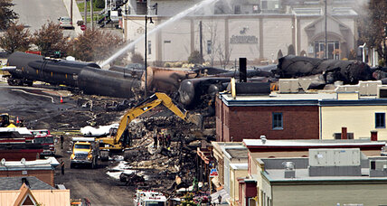 Quebec train fire: Will train derailment bolster case for oil pipelines?