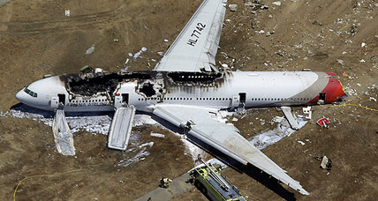 Asiana Airlines crash: Shares plunge as airline faces scrutiny (+video)
