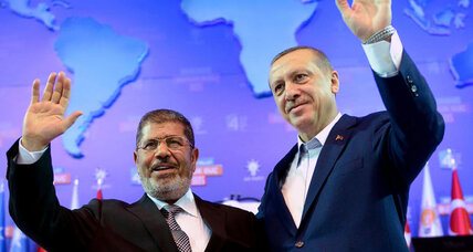 Egypt's coup shakes Brotherhood's Islamic partners in Turkey