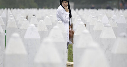Srebrenica massacre anniversary marked by mass funeral